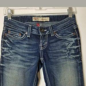 BKE Buckle Madison Stretch Dark Wash Jean's Sz 24